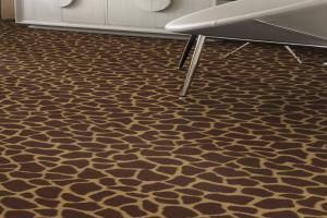 Novelty Commercial Carpet / Animal Pattern Carpet / 1879