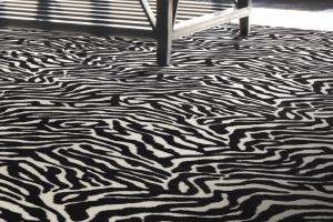 Novelty Commercial Carpet, Animal Pattern Carpet 1896