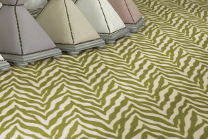 Novelty Commercial Carpet / Animal Pattern Carpet / 1897